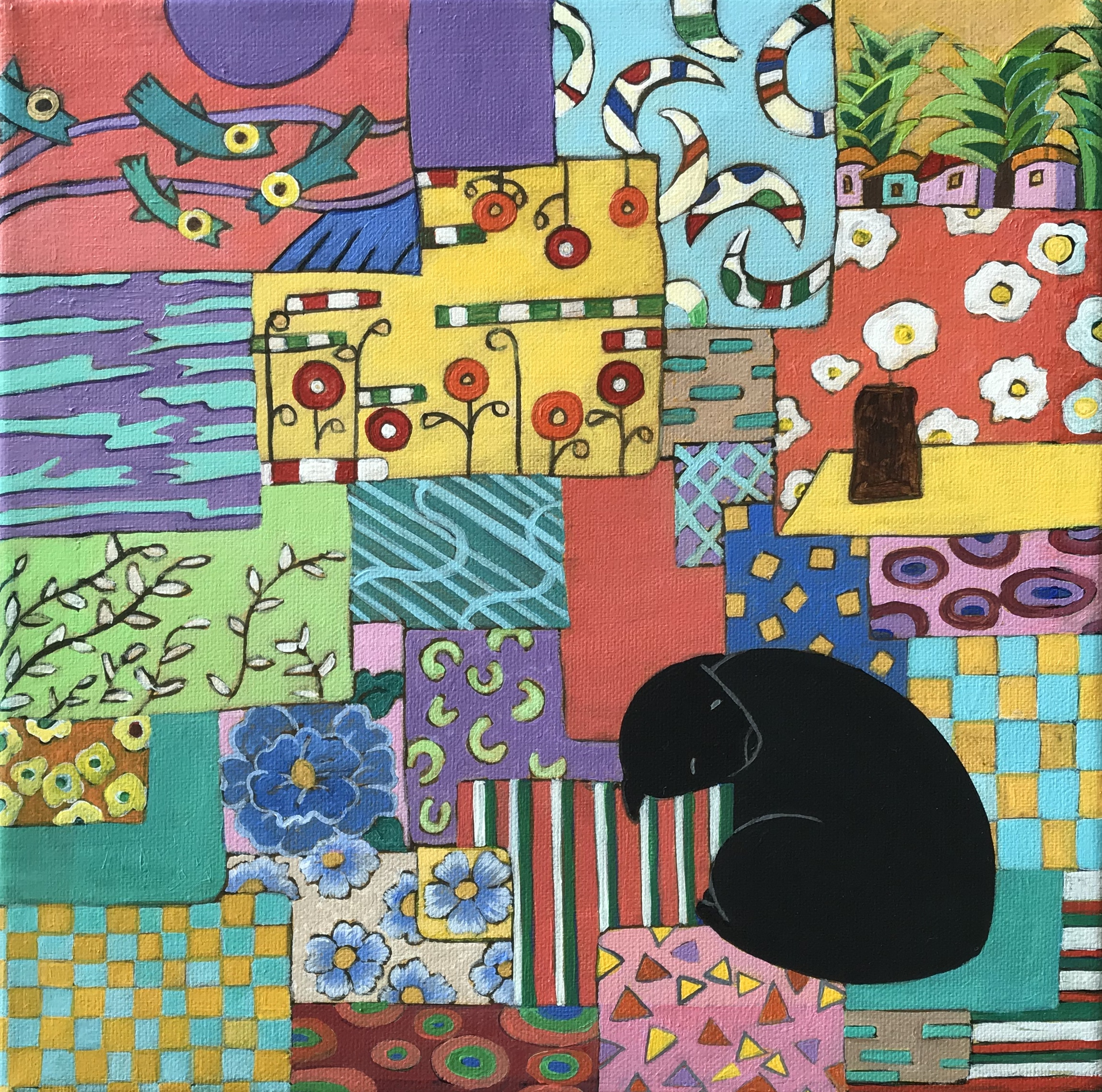fabrics-and-the-cat