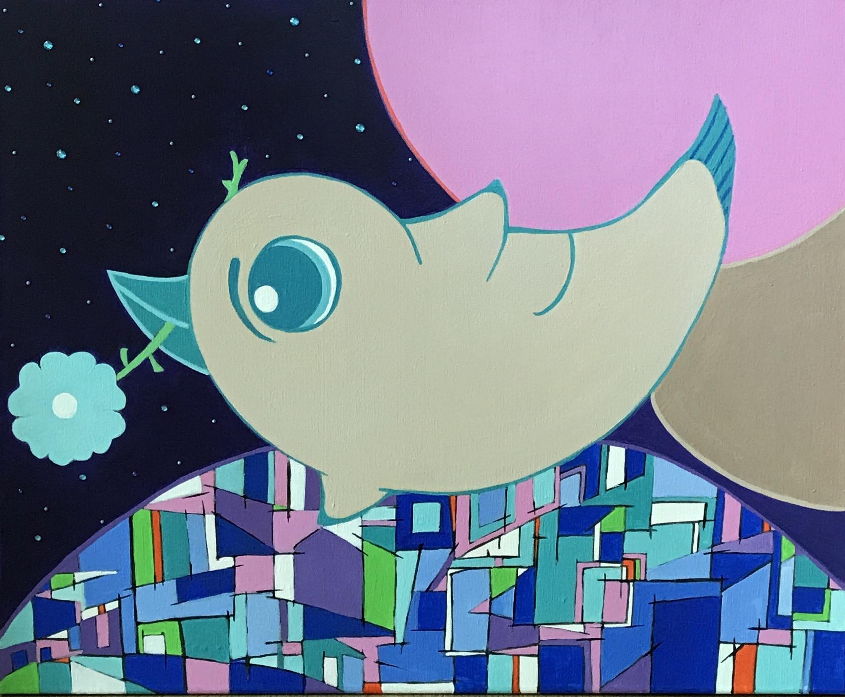 A Bird Carrying a Dream
